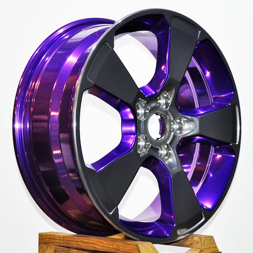 Крашенные литые диски фото