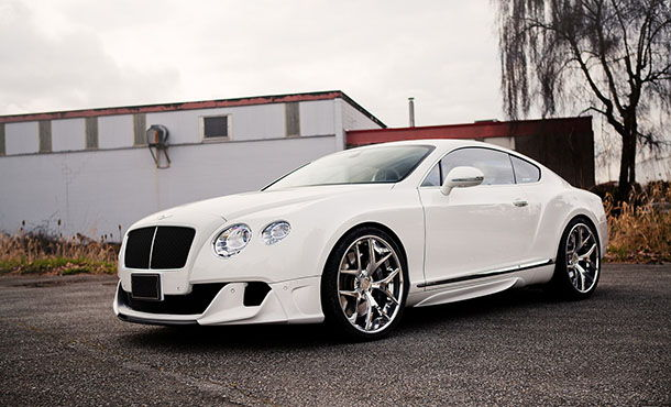 Обновленный Bentley Continental GT