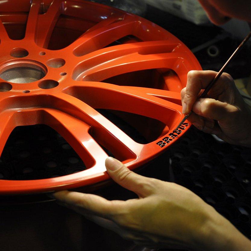 Как покрасить диски в два цвета своими руками 56