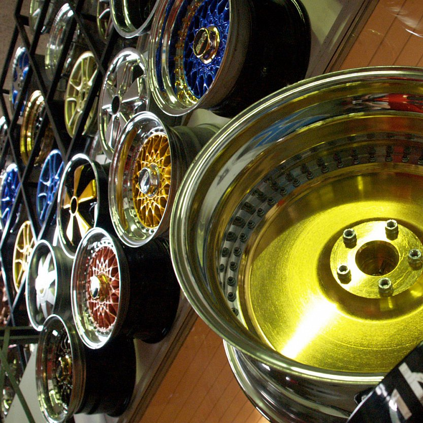 Как отшлифовать литые диски своими руками 28
